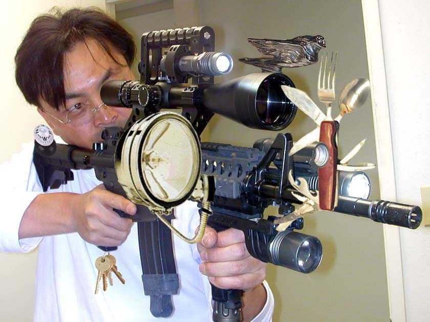 これさえあればどんな状況にも対応できるように改良された軽機関銃。 Tw... 最新サバイバル対応
